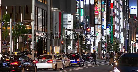 tokyo japan 28 june 2019 ginza