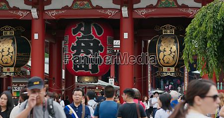 tokyo japan 24 june 2019 kaminarimon