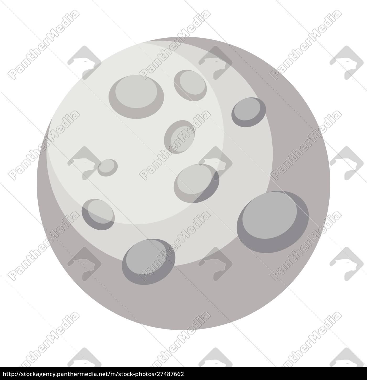 einfache, mercury, design, vektor-illustration, auf, weißem - 27487662