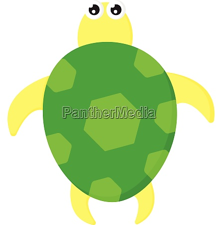a cute green and yellow colored