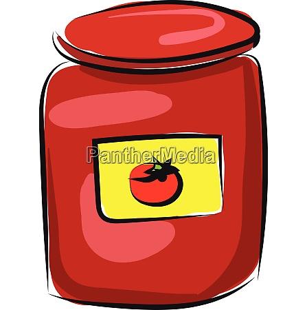 tomato vector or color illustration