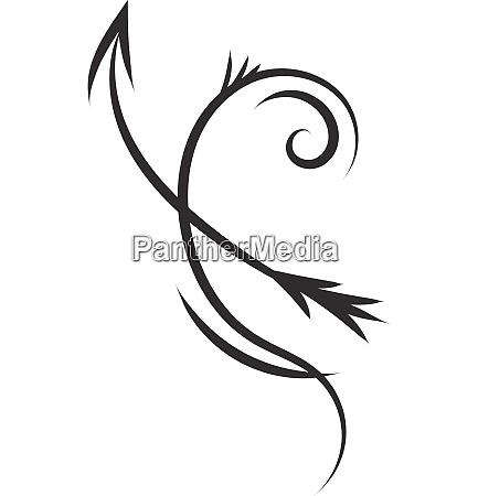 einfache schwarz und weiss tattoo skizze