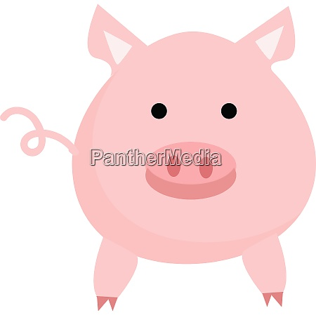 clipart of a cute pink colored