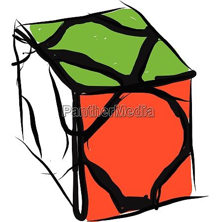 color gamerubiks cube vector or color