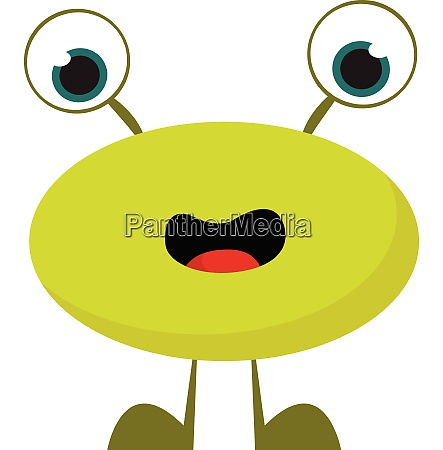 monster without hands vector or color