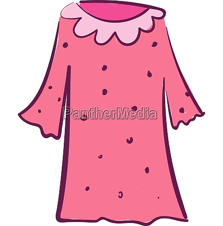 clipart of a showcase rose colored