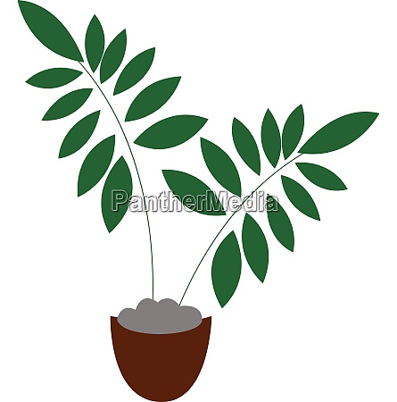 clipart of a brown pot with