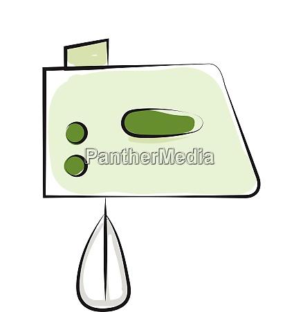 zeichnung eines elektrischen ei schlaegers in