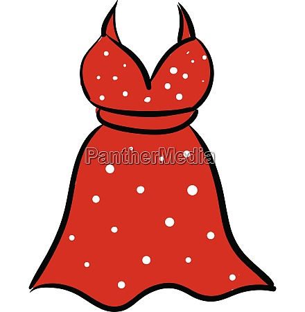 clipart of a showcase red colored