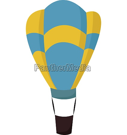 a hot air balloon vector