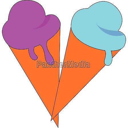 ice cream hand drawn design illustration