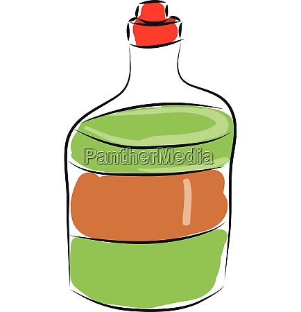 soap liquid bottle hand drawn design