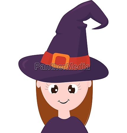clipart of a cute little witch