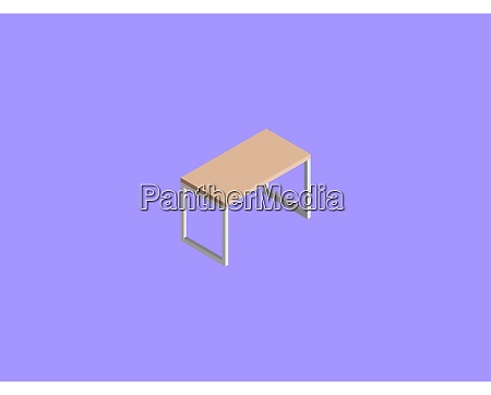 table illustration vector on white background