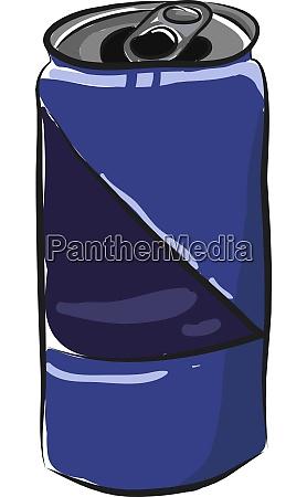a soda can vector or color