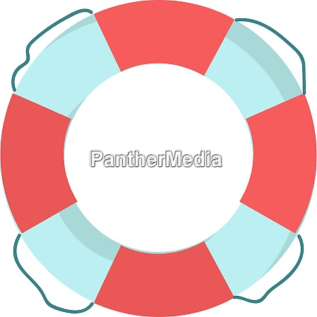 a lifebuoy vector or color illustration