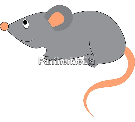 a mouse with glasses vector or