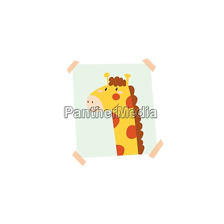 image of animal portrait vector or