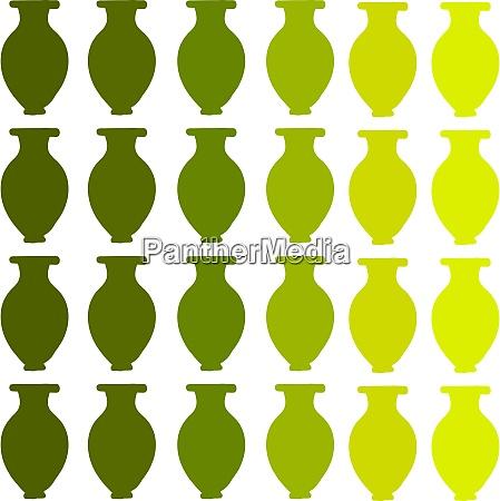 green vase wallpaper illustration vector on