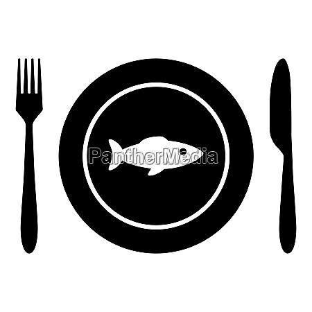 fisch und besteck