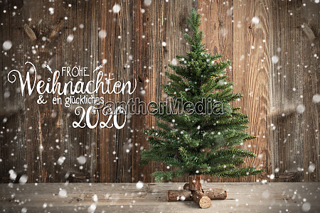 tree calligraphy frohe weihnachten means merry