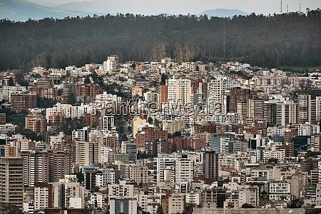quito ecudador city panorama