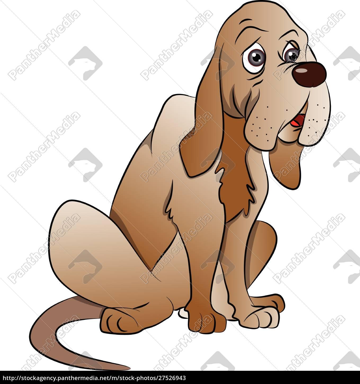 vektor, von, niedlichen, boxer, hund, sitzen. - 27526943
