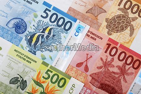 geld aus dem franzoesischen pazifikraum
