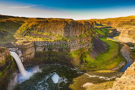 palouse falls washington united states of