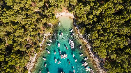 kroatien otok koludarc transparent oben luft