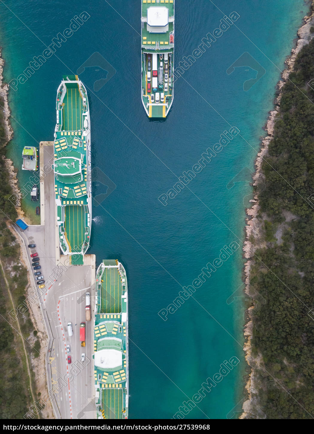 aerial, view, of, a, big, ferry - 27539968