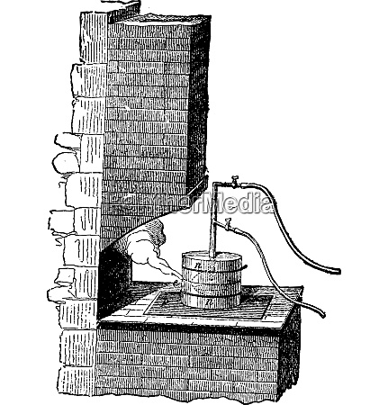 schmelztiegel gasrohr wasserstoff und sauerstoffrohr vintage