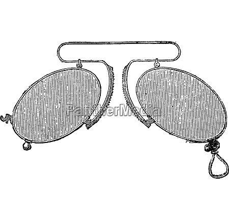 brille eine nase clip abstand