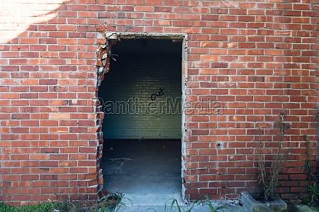 verlassenes lagerhaus