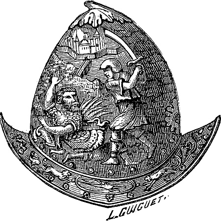 morion helm vintage gravur