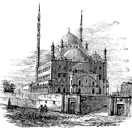 moschee von muhammad ali oder alabaster