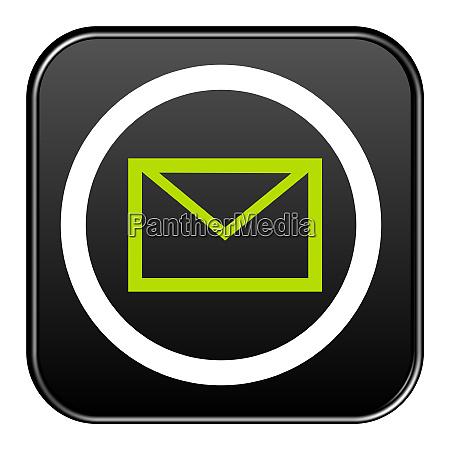 black button mail oder newsletter