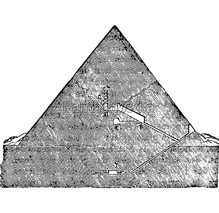cutting the great pyramid of memphis