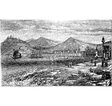 barcelona in spanien in den 1890er