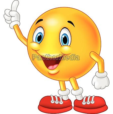 cartoon emoticon finger