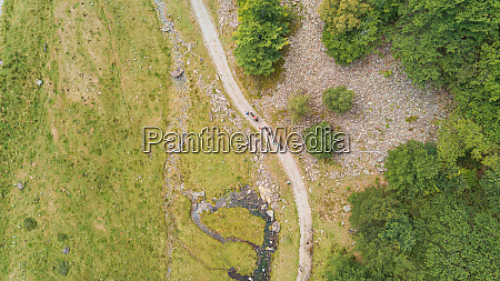 aerial, view, of, people, transporting, goods - 27625247