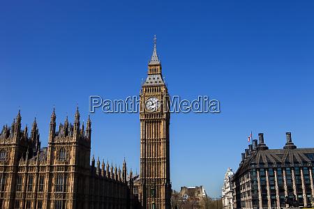 london big ben clock in der