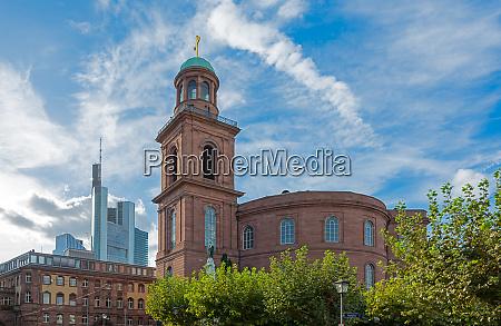 paulskirche church in frankfurt