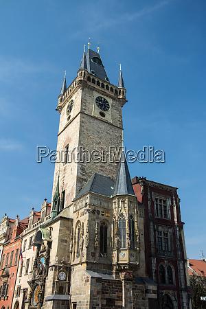 town hall prague czech republic