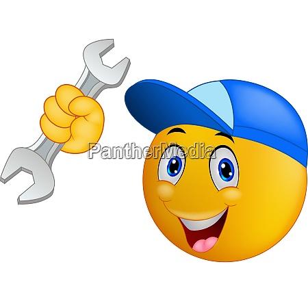 reparaturmann emoticon smiley