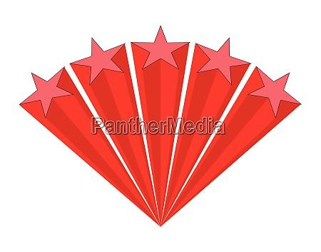 red stars aray