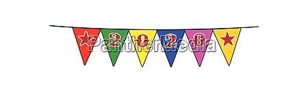 2020 feier flagge ammer