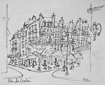 rue de conde near jardin du