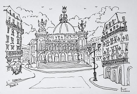 palais garnier opera house paris france