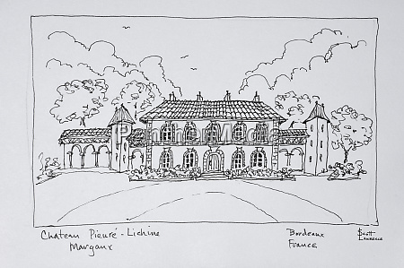 chateau prieure lichine margaux region bordeaux